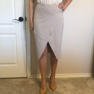 ASOS high waisted origami pencil skirt